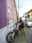 Frederico, one off the crew off hostel in Cartagena.